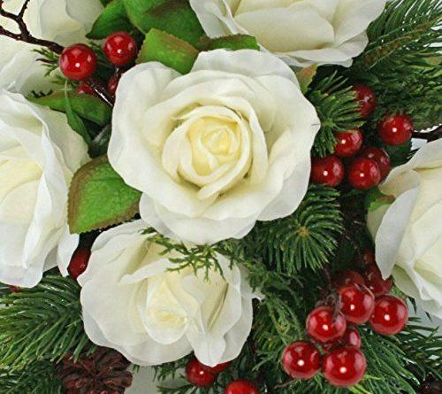 winter silk flowers