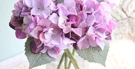 artificial hydrangea flowers
