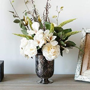 decorating ideas silk flowers