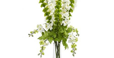 artificial delphinium flowers