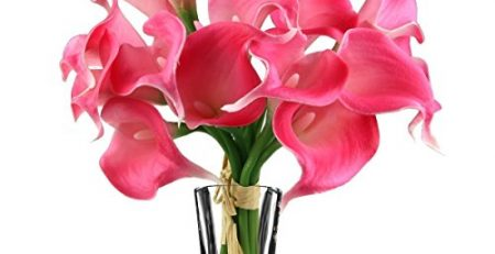 calla lily silk bridal bouquet