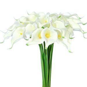 artificial flower arrangements calla lily