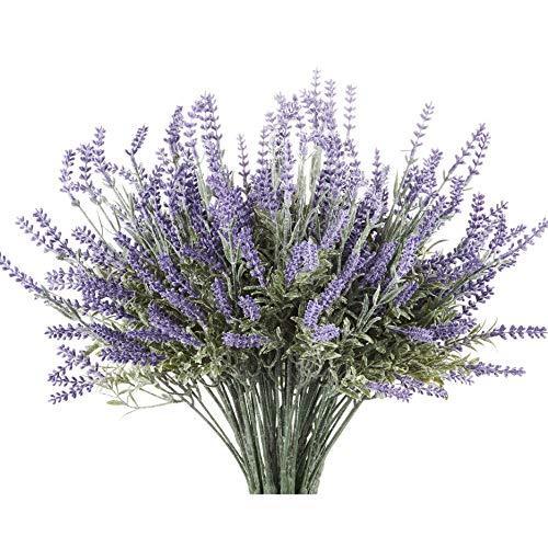 Artificial Lavender Flower Arrangements