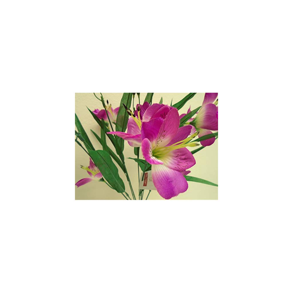artificial alstroemeria flowers