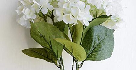 artificial flower bunch hydrangea