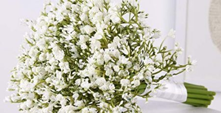 artificial white babys breath