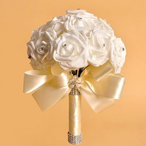 Artificial Flowers Ivory Beige Vanilla