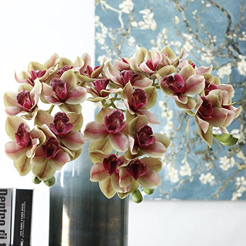 Silk Orchid Flowers
