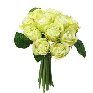 Silk Roses Flowers