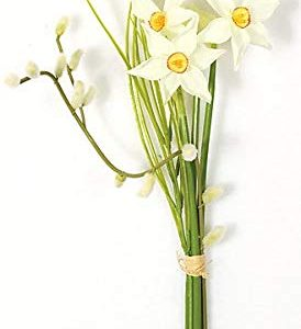 Silk Narcissus Flowers