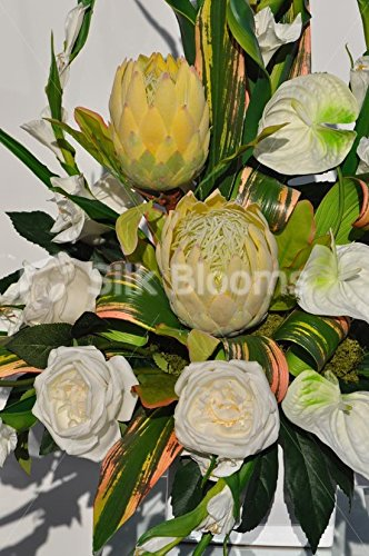 fake protea flowers