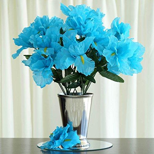 faux iris flowers