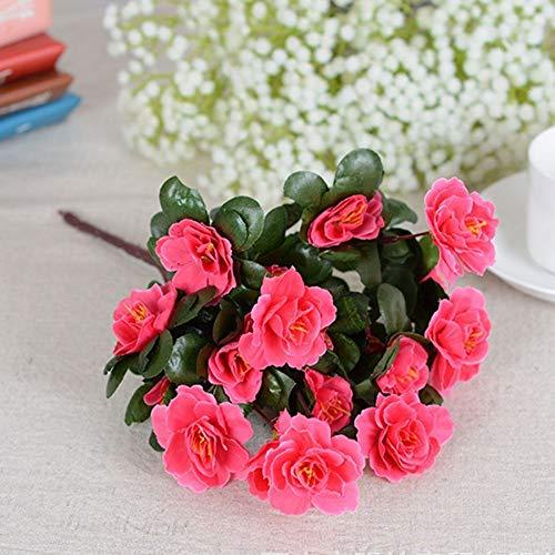faux primrose flowers
