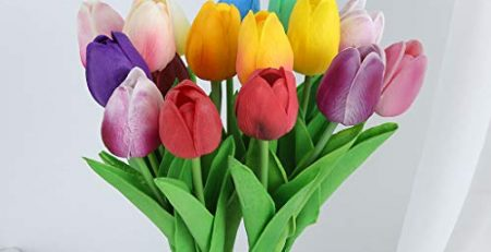 silk tulip flowers