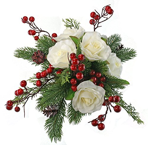 winter artificial flowers