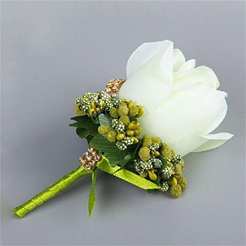 artificial flowers ivory
