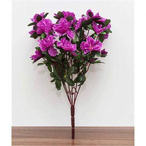 Silk Rhododendron Flowers