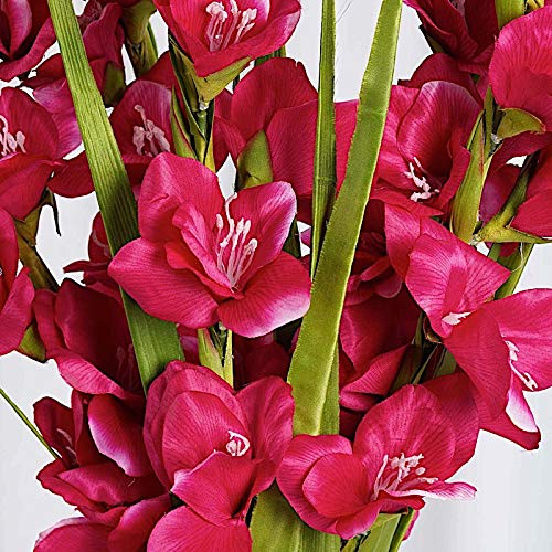 silk gladiolus floral arrangement