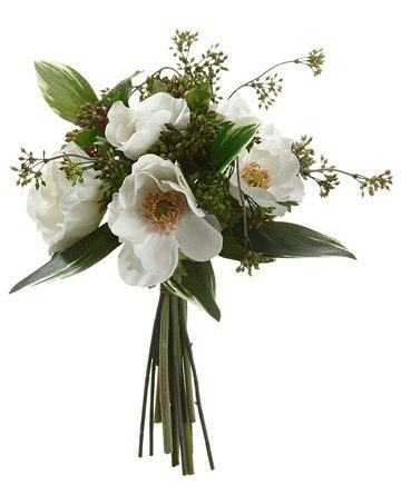 anemone berry silk bouquet