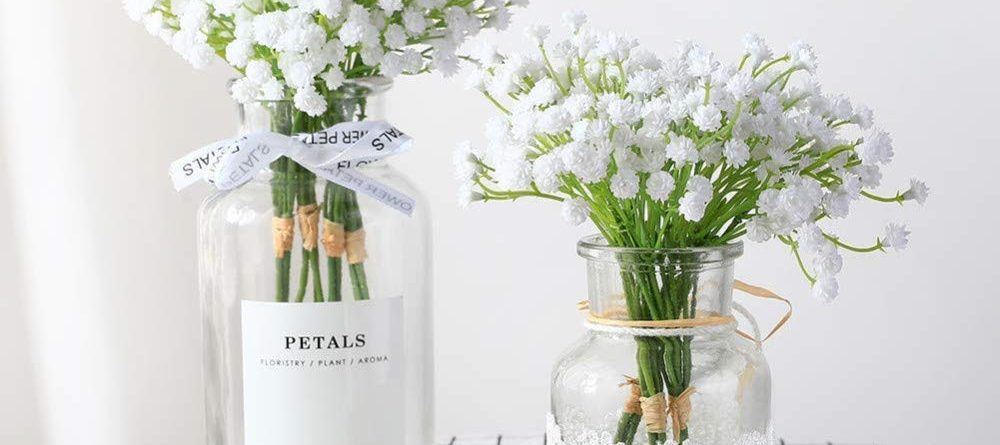 artifical baby breath flowers