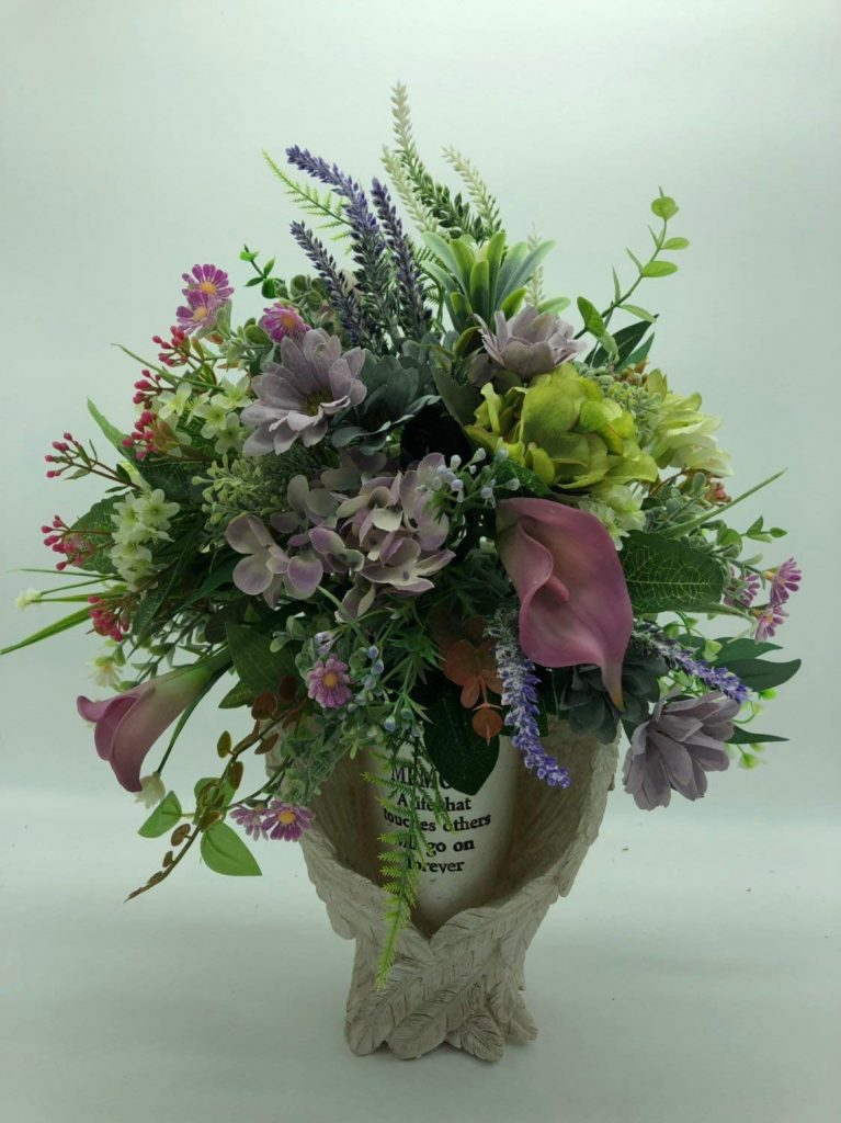 artificial flowers for graves