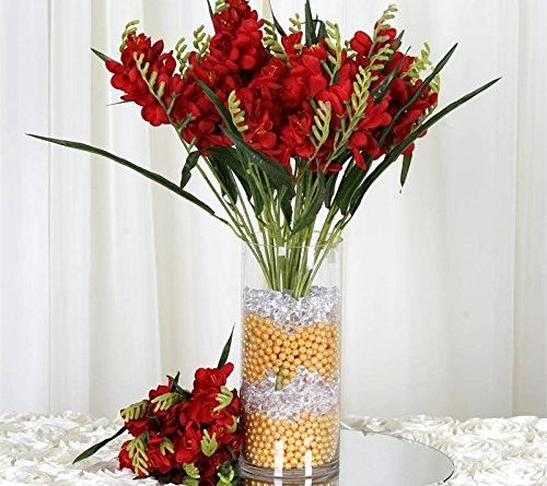 Artificial Freesia Flower Bushes