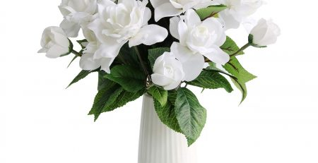 Silk Gardenia Artificial Flower Wedding Decorative