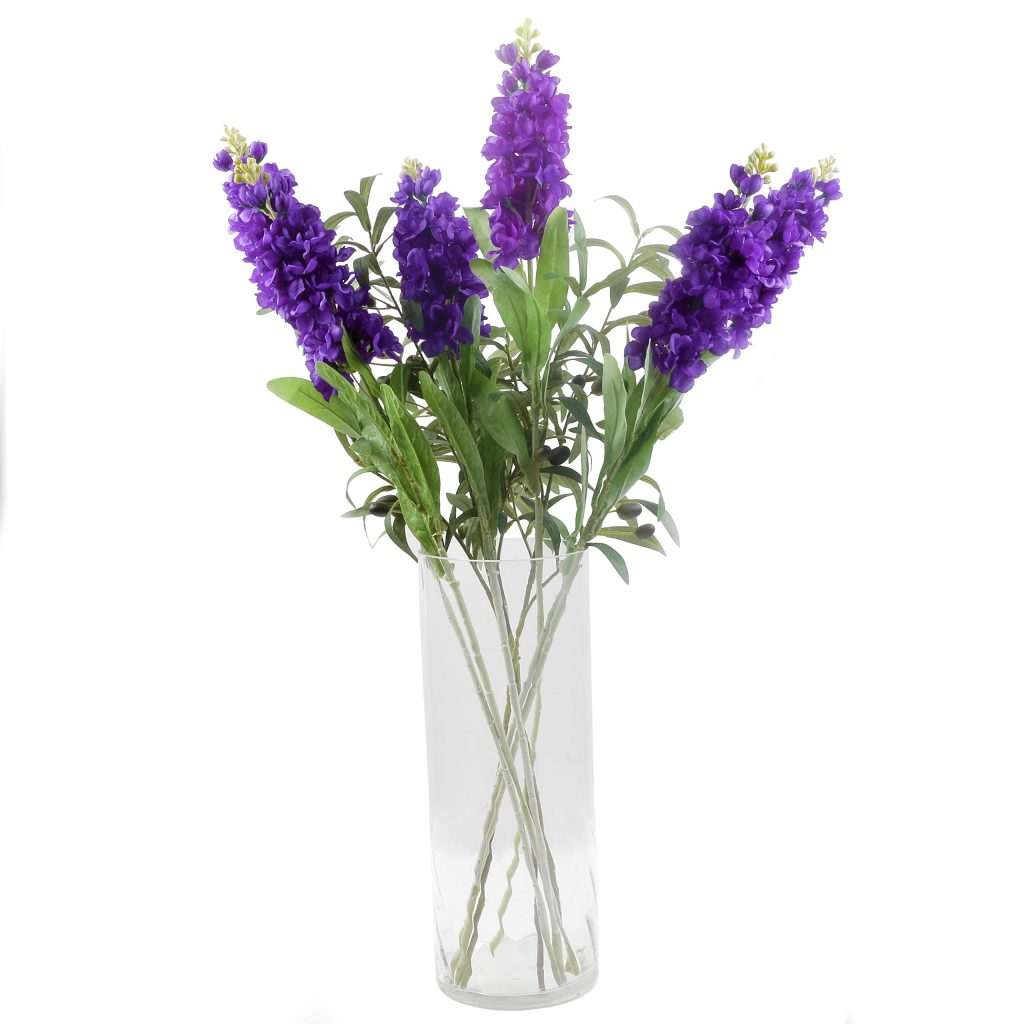 artificial hyacinth flowers