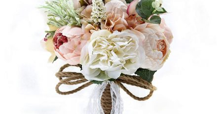 camellias wedding bouquet