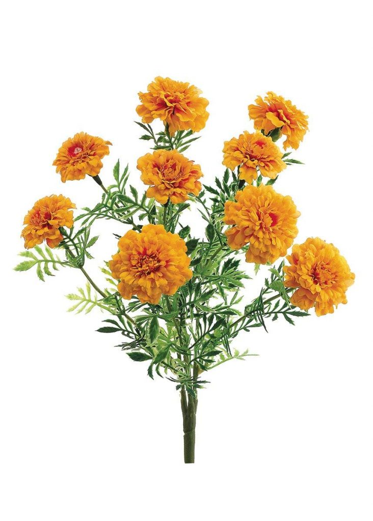 Artificial Marigold Flowers