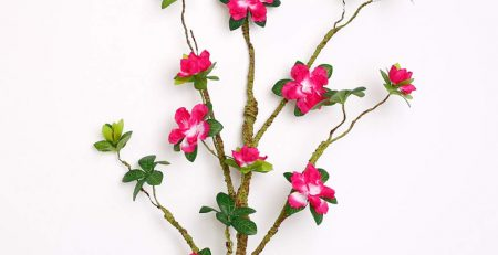 Sarazong Artificial Rhododendron Flower,Decoration Everlasting Flower Floor Flower Arrangement
