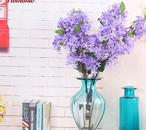 ShineBear Outstanding Artificial Silk Lilac Flowers