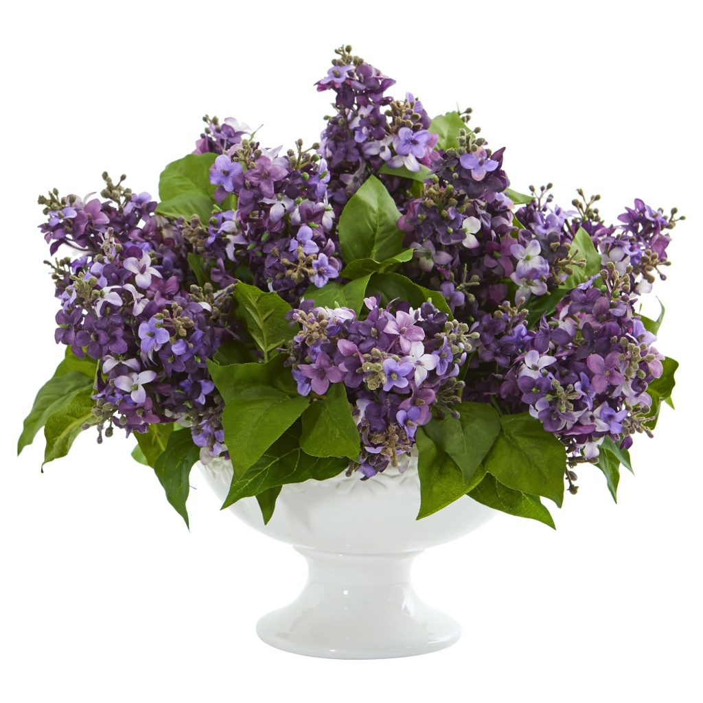 artificial lilac flowers