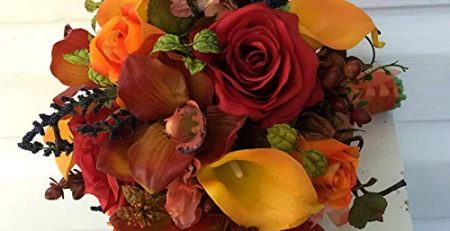 Autumn wedding bouquet