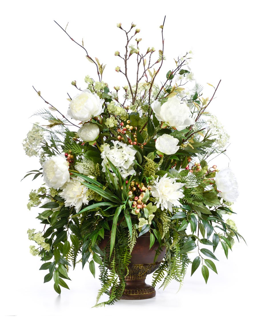 Faux Flower Arrangements