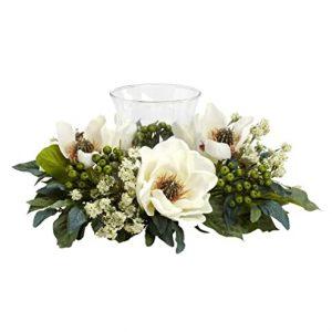 Candelabrum Silk Flower Arrangements