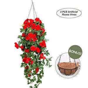 Artificial Plants Hanging Baskets