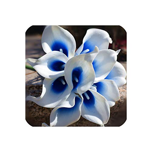 navy blue picasso calla lilies real touch flowers for wedding bouquets centerpieces artificial flowers for weddingroyal blue