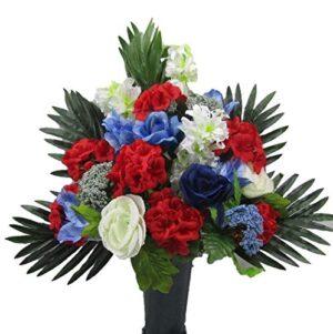 Cemetery Flowers Vase