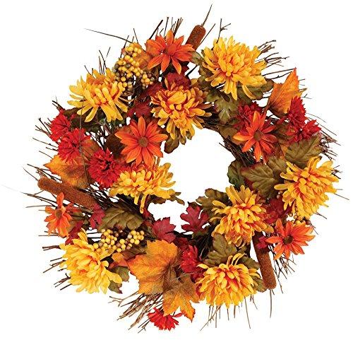 Faux Fall Flowers
