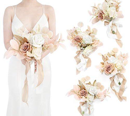 Fake Bridal Bouquets Silk Flower Arrangements