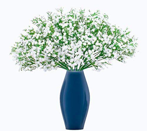 Faux Flowers in Vase Silk Flower Arrangements