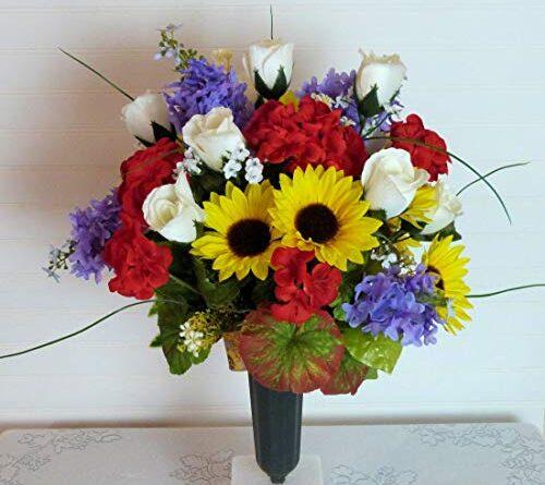Flowers For Graveside Service Silk Flower Arrangements