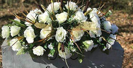 Memorial Day Flowers for Graves Silk Flower Arrangements