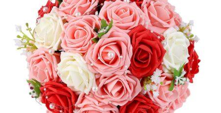 Silk Flower Bridal Bouquets Silk Flower Arrangements
